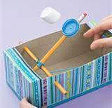Cool, tissue box catapult.