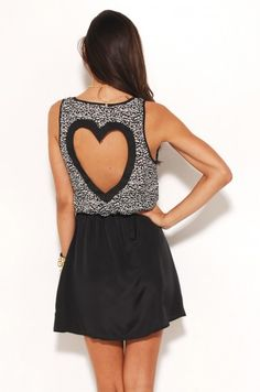 So effing adorable - http://www.wanelo.com/women/Reverse+Heart+Dress-605983.html