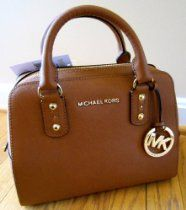 Michael Kors Small Satchel Saffiano Luggage Leather  From Michael Kors  Price:$368.00