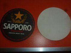 EN. aug JAPAN NIPPON SAPPORO beer coaster nr47 Sapporo Beer, Beer Mats, Beer Coasters, Asia, Japan, Ebay, Okinawa Japan, Beer Bottle Caps