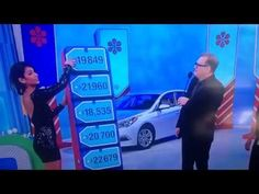 Price Is Right Model Cries After Accidentally Giving Away a Car