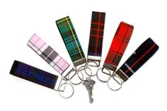 Scottish Tartan Key Fob made from your choice of by TheTartanPup, $5.95