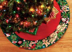 christmas tree skirt - Cerca con Google