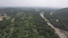 vista aérea río Guatapurí