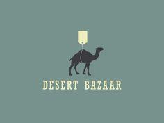 Desert Bazaar Logo by Aditya Chhatrala