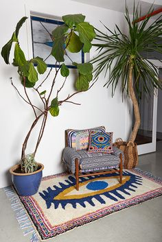 MH + Anthro Home I want to find a white or off-color white rug and re-create this - wondering how?