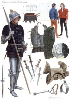 Graham Turner - Hombre de armas, siglo XV