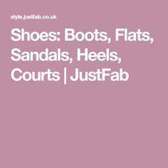 Shoes: Boots, Flats, Sandals, Heels, Courts | JustFab