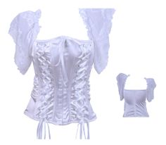 Free Shipping 2013 New Indero Brand  Lace Corset Sexy Corset White Hot Shapers Top Quality Plus Size Corsets and Bustiers $21.28