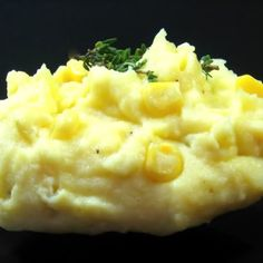 One Perfect Bite: Golden Corn and Potato Mash/  Rainy Day ... looking for ideas for all those summer meals we'll be having and this looks perfect for today!