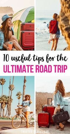 10 Useful Tips for the Ultimate Road Trip. Packing for a road trip seems like it should be easier than worrying about airline weight and size limitations, but it can actually be really difficult to pack for a road trip. Check out my top road trip tips to make your road trip fun and stress-free. Road Trip Packing | Road Trip Planning | Road Trip Tips | Travel Tips Road Trip | #roadtrip