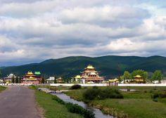 Ivolginsky Datsan in Buryatia, Russia.