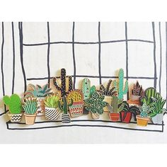 @deerseason87 bloomin' cacti pin collection is growing, what an ace collection…