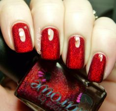 Colors by Llarowe: Spring 2014 - HOLOS! | Pointless Cafe  Mighty Red Baron