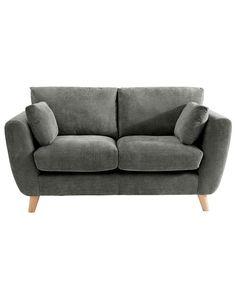 Sloane Medium Sofa in Green | Sofas & Armchairs | ASDA direct