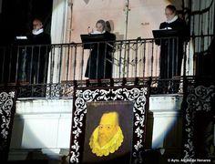 ...y el 23 de abril, Alcalá celebró a Cervantes. Miles de personas han querido participar en el homenaje de la ciudad a su hijo más ilustre, Miguel de Cervantes en la conmemoración del IV Centenario de su fallecimiento.