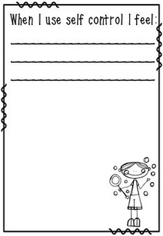 FREE - SELF CONTROL BUBBLES - A BEHAVIOR MANAGEMENT TEACHING TOOL! - TeachersPayTeachers.com