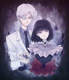 Hotaru, Professor Tomoe (#Hotaru Tomoe #Sailor Saturn #Mistress 9 #Professor Tomoe #Death Busters)