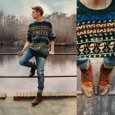 Brogue  and Boot Socks  Awaiting (by Mattis Dallmann) http://lookbook.nu/look/3325325-Awaiting