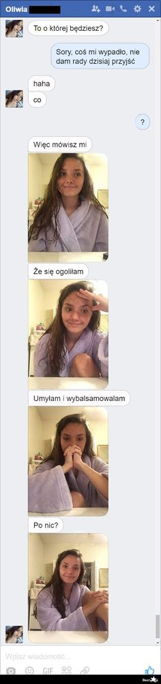 BESTY.pl Funny Sms, Funny Messages, Wtf Funny, Polish Memes, Text Memes, Life Humor, Reaction Pictures, Funny Stories, I Laughed
