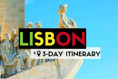 What to see in Lisbon in a detailed 3-day itinerary. Local tips of what's really worthy and unique to do in your trip to Portugal's hipster capital. ♥
