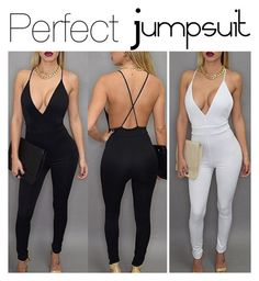"""Love it! Perfect Jumpsuit!"" by caaaazz ❤ liked on Polyvore"