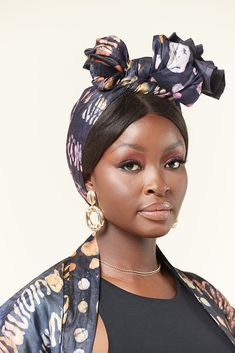 This African hand dyed headwrap is a staple addition to your year-round wardrobe. With its unique African print, this high impact headwrap boasts a bold African design that will complement and enhance your favourite daytime and evening ensembles with effortless ease. #matchingsets #africanfashion #africanprint #africanfabric African Design, African Fabric, Head Wraps, African Fashion, Your Hair, Stylish, Dimensions, Outfits, Products