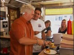 Diners, Drive-ins, and Dives-In Hackensack , NJ@ White Manna Hamburgers. Think White Castle only fresher. This could be a road trip should the opportunity presents itself.