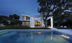Olion villa AA , Thassos, 2016 - Ark4lab of architecture