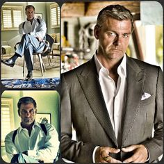 Ray Stevenson as the bad guy on Dexter.