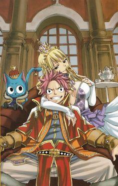 Hiro Mashima, Satelight, Fairy Tail, Happy (Fairy Tail), Lucy Heartfilia