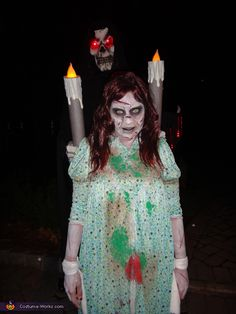 Regan from The Exorcist - Halloween Costume Contest