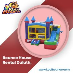 Are you looking to rent a bounce house in Duluth? In Duluth, the Kool Bounce Party rents out Bounce House. For your party rent an Inflatable Bounce House, Moonwalk or Water Slide. Bounce House Parties, House Party, Moonwalk Rentals, Inflatable Rentals, Inflatable Bounce House, Bounce House Rentals, Bubble Machine, Party Needs, Carnival Games