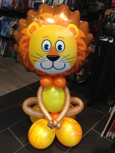 #Lion #Qualatex #Balloons #ModellingBalloons #Roar