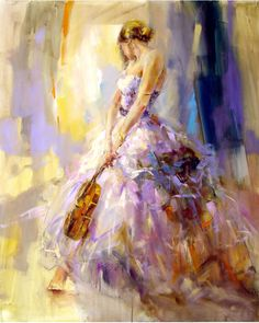 Anna Razumovskaya - Flirting with a Violin