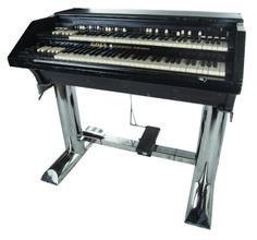 "Keith Emerson's ""Tarkus"" GOFF Professional Hammond on custom chrome stand Studio Gear, Studio Setup, Hammond Organ, Emerson Lake & Palmer, Keyboard Piano, Progressive Rock, Vintage Keys, Electronic Music, Music Stuff"