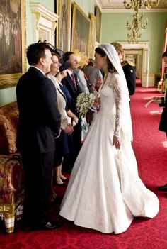 Prince William and Kate royal wedding reception