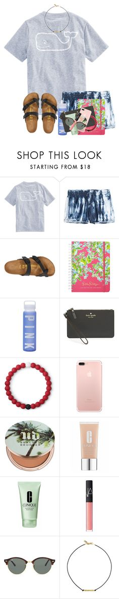 """""""QOTD: Fave old Disney show??"""" by zoejm ❤ liked on Polyvore featuring Vineyard Vines, Birkenstock, Victoria's Secret, Kate Spade, Lokai, Urban Decay, Clinique, NARS Cosmetics, Ray-Ban and Vanessa Mooney"""
