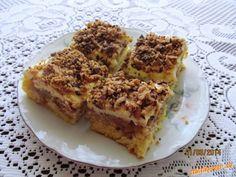 Jablíčkový koláč sypaný margotkou
