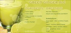 Green Ginger Ale Recipe Pictures, Photos, and Images for Facebook, Tumblr, Pinterest, and Twitter