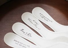 Shoes for wedding Lettering Service. photo to see if you can do more