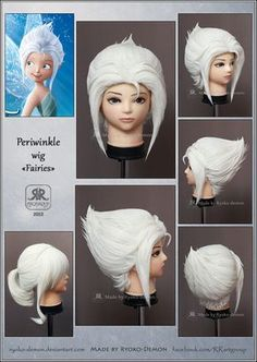 Periwinkle wig by *Ryoko-demon on deviantART