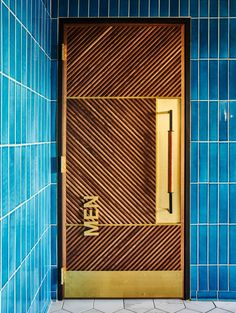 Main door design entrance tiles New ideas Door Design Interior, Main Door Design, Window Design, Interior Doors, Restaurant Door, Restaurant Bathroom, Luxury Restaurant, Architecture Restaurant, Commercial Architecture