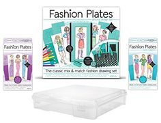 Fashion Plates Deluxe Gift Set