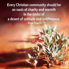 #LoveOneAnother #PopeFrancis