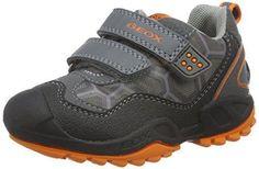 Oferta: 59.9€ Dto: -40%. Comprar Ofertas de Geox J New Savage Boy B - Zapatillas para niños, color gris (grey/orangec0036), talla 32 EU barato. ¡Mira las ofertas!