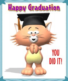 Congratulate someone on #graduation day with this #ecard.