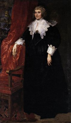Anthony van Dyck - Portrait of Anna van Craesbecke - WGA07419 - Anthony van Dyck - Wikimedia Commons