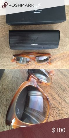 Persol Film Noir Edition women's sunglasses Worn only a handful of times on Nantucket - like new condition. Comes with all of the original packaging. This Italian brand keeps you stylish on your summer getaway! Persol Accessories Sunglasses