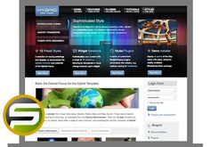 Hybrid WordPress Theme DOWNLOAD THEME: http://smartonlinepros.com/get/rockettheme/ Developed and designed by RocketTheme one of the top premium WP themes developer.